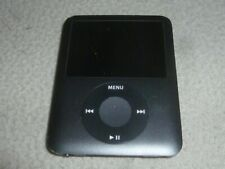 New ListingApple Ipod Mp3 Media Player A1236 Nano Black 3Rd Gen 8Gb Works Good Condition >