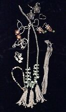 Lot of Silver Tone Jewelry