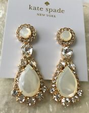 Kate spade new york 12k Gold-Plated Natural Butter Up Statement Earrings NWT