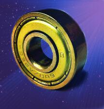 2 Kugellager 608 ZZ ABEC11 Gold / 8 x 22 x 7 mm