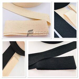100% Organic Cotton HERRINGBONE Webbing Tape 10 mm /20 mm /30 mm /40 mm
