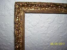 Vintage Antique Gold Gilt Wood Gesso Picture Frame