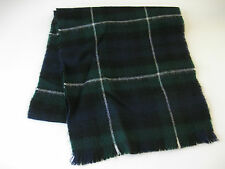 LOCHCARRON MULTICOLORED CLASSIC 100 % PURE WOOL SCARF, MADE IN SCOTLAND