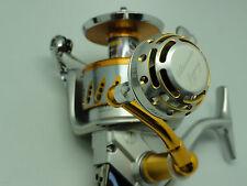 UJ PRK 45mm type II knob for Shimano Stella Twinpower Saragosa reel Silver/Gold