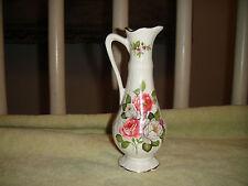 Vintage James Kent Old Foley Harmony Rose Pitcher Vase-Floral Design-Lovely