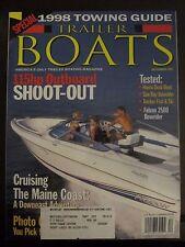 Trailer Boats Magazine December 1997 Cruising Maine Coast Falcon 2500 Bowrider G