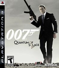007 Quantum of Solace PS3 - LN