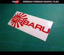 JDM LOGO SUBARU STI IMPREZA WRX CAR Decal vinyl Sticker #03