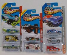 Hot Wheels 2013 TREASURE HUNT LOT OF 8 MAZDA RX-7 LINCOLN MUSTANG FIESTA  MOMC