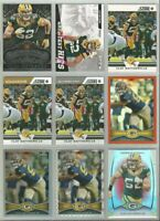 Clay Matthews Packers 9 card 2012 insert lot-all different