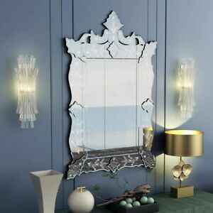"Wall Mounted Mirror Venetian Mirror for Living Room Bathroom Bedroom H48"" x W29"""