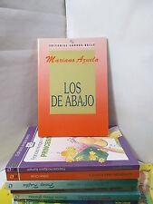 LOS DE ABAJO - MARIANO AZUELA Spanish Literature Libros en Espanol