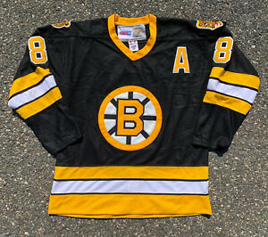 Vintage Boston Bruins Cam Neely CCM NHL Player Edition Hockey Jersey Size 50