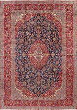 Vintage Navy Blue Floral Ardakan Handmade Area Rug Oriental Traditional 10'x14'