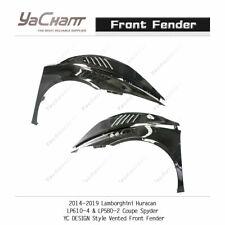 Dry Carbon Kit For 14-19 Huracan LP610-4 & LP580-2 Coupe Spyder YC Front Fender