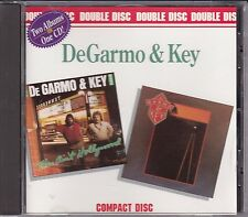 DeGarmo & Key - Double Disc - This Ain't Hollywood / This Time Thru NEW OOP