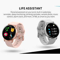 DT88 Smart Watch Bracelet Heart Rate Monitoring Silicone Strap Band Wristwatch