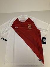 Nike AS Monaco AS MONACO HOME JERSEY 18/19 Size Medium 918982-100 France
