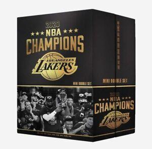 LOS ANGELES LAKERS 2020 NBA CHAMPIONS COMMEMORATIVE MINI BOBBLEHEAD SET