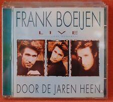 FRANK BOEIJEN - LIVE- DOOR DE JAREN HEEN ---  *** CD ***