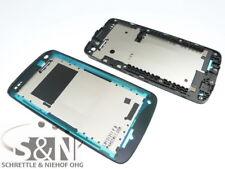 Original HTC Desire 500 Front Gehäuse Cover f. Display Kleber Rahmen, schwarz