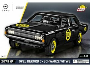 Cobi 24333 - Youngtimer Collection - 1:12 Opel Record C Schwarze Witwe - Neu