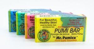 Mr. Pumice Callus Remover Pumi Bar: Pedicure Stone & Foot Scrubber - Medium Grit