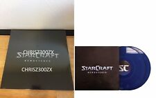 StarCraft Remastered Blue Vinyl Record Soundtrack 2xLP Blizzcon 2017 Blizzard