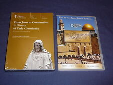 Teaching Co Great Courses  DVDs        FROM JESUS TO CONSTANTINE     new + BONUS