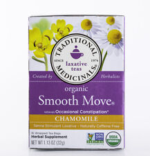 Traditional Medicinals Tea - Organic Smooth Move - Chamomile - 16 Bags - Non-GMO