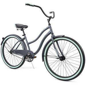 """Huffy 26"""" Cranbrook Women's Comfort Cruiser Bike, Gray"""