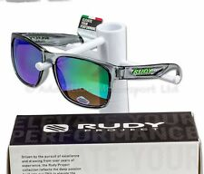 Rudy Project Lifestyle Sunglasses, Spinhawk Crysal Ash Multilaser Green SP314133