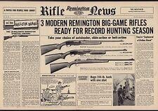 1957 REMINGTON 740 Woodmaster, 760 Gamemaster, 222 RIFLE Centerfold AD