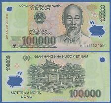Vietnam 100,000 Dong P 122 i 2013 UNC Low Shipping! 100000 Viet Nam, New Date