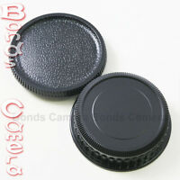 Camera Body + Rear Lens Cap for Pentax K mount PK K20D K10D K200D K-5 7 r 01 30