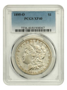 1895-O $1 PCGS XF40 - Key Date from New Orleans - Morgan Silver Dollar