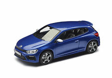 Original VW Model Car 1:43, SCIROCCO R, Rising Blue Metallic