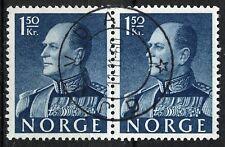 Norway 1959, NK 470 Pair Son sw Gjøvdal 11-11-60 (AA)