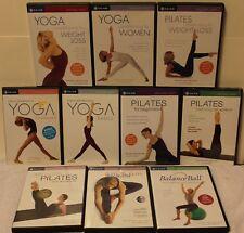 10 Gaiam workout DVD lot yoga Pilates stretch ana caban suzanne deason for women