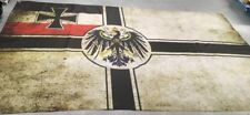 State War Flag of the German Empire 1903-1918 years (aging effect) size 90x150