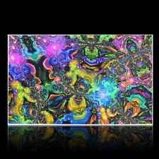 Psychedelic Trippy Art Silk Fabric Cloth Poster Home Wall Decor 40 x 24 inch