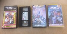 Transformers Videos job lot Generation 1 Retro 1980s Movie + +