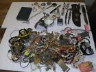 Junk+Drawer+Lot+Of+Watches%2C+Jewelry%2C+Knifes%2C+Fountain+Pen%2C+Buck%2C+Navajo