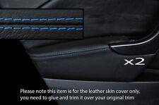Azul Stich 2x Frontal Puerta Apoyabrazos tapa se ajusta Opel Opel Astra J Mk6 09-15 Philippines
