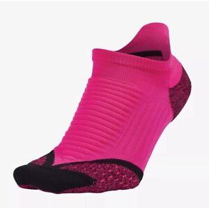 Nike Elite Cushioned No-Show Tab Unisex Running Training Gym Anti-blister Socks