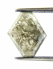 1.54TCW Salt and Pepper Antique Natural Diamond for Wedding Ring Gift Low Rate