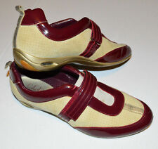 Cole Haan Nike Air Damen 9b braun beige sportliche Slipper Mule Sneaker Schuh