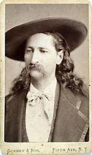 Wild Bill Hickok Lawman Gunfighter Wild West 1873 USA Reprint 7x4 Inch Photo
