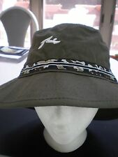NEW ARMY  GREEN outdoors bucket hat RIMMED MADE IN USA UNISEX ONE SIZE FITS ALL