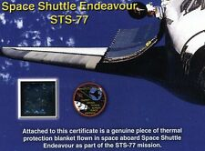 Flown in Space Aboard Space Shuttle Endeavour - STS-77 - 4.1 Million Miles!